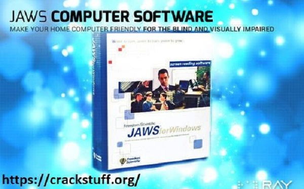 JAWS [Latest Version] Crack + Authorization Number